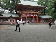 5氷川神社にて